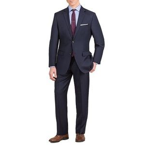 Ralph Ralph Lauren Classic Fit Wool Suit NAVY 38S